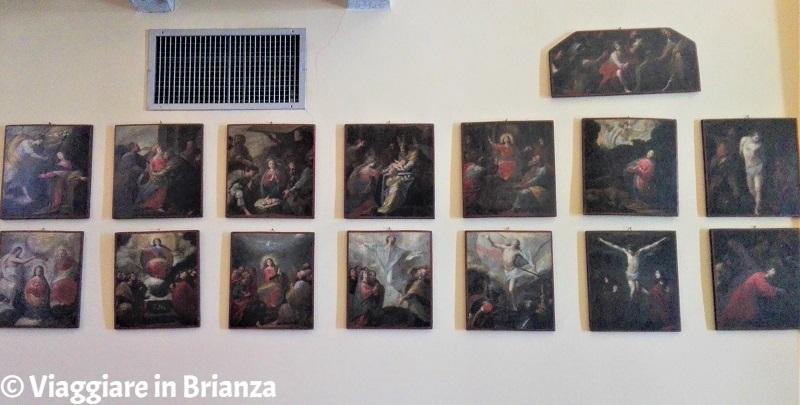 I Misteri del Rosario nella Chiesa della Beata Vergine Assunta di Barzanò