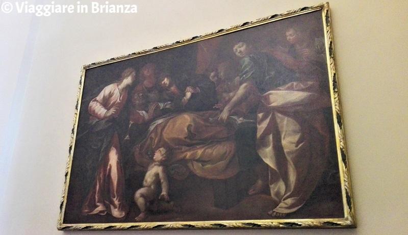 La morte di San Giuseppe nella Chiesa di Torricella a Barzanò