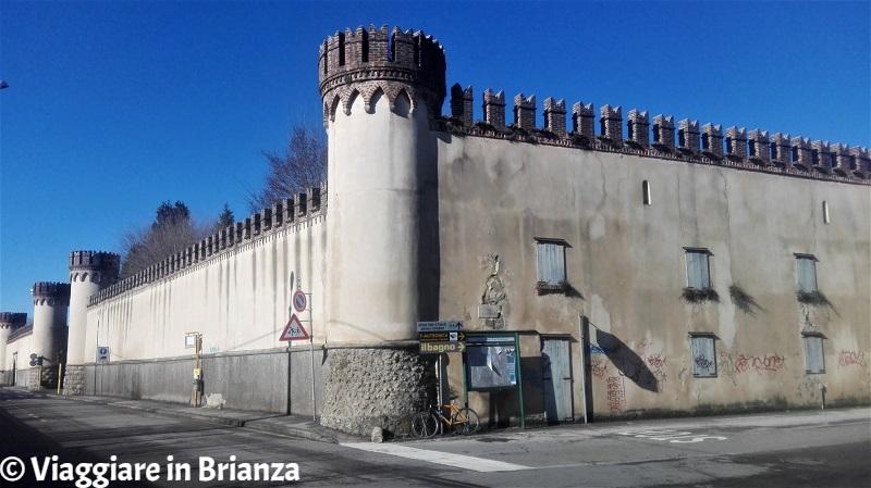 Le mura di Villa Torneamento