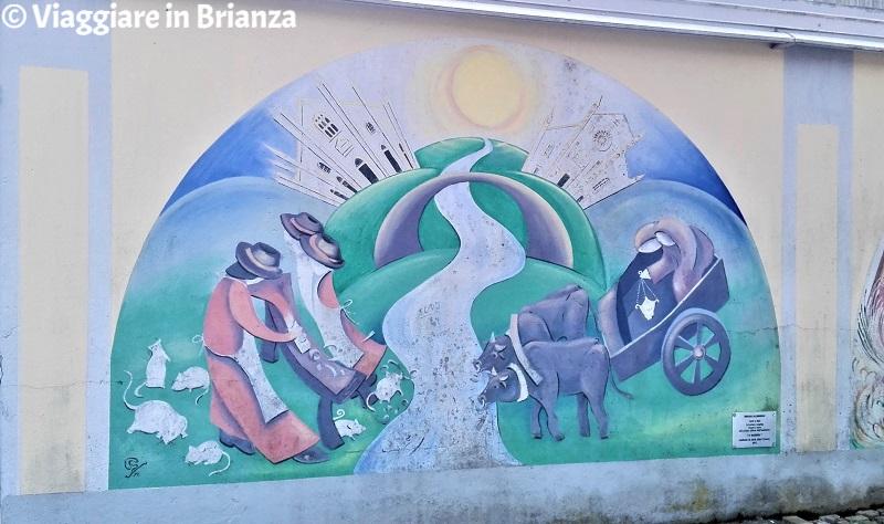 Murales in Brianza, Ratitt e Buitt a Capiago Intimiano