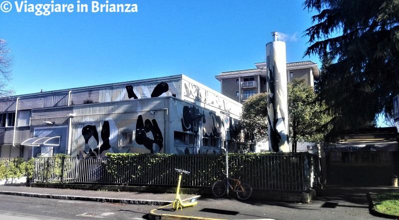 Il murales di Monza 7Fragments di Giorgio Bartocci