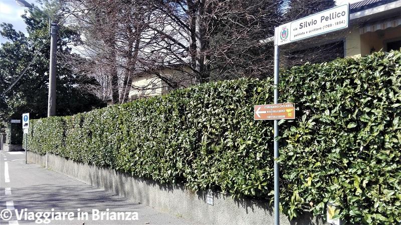 Parco delle Groane a Barlassina in via Pellico