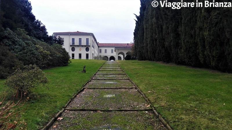 Il parco di Villa Raimondi a Minoprio