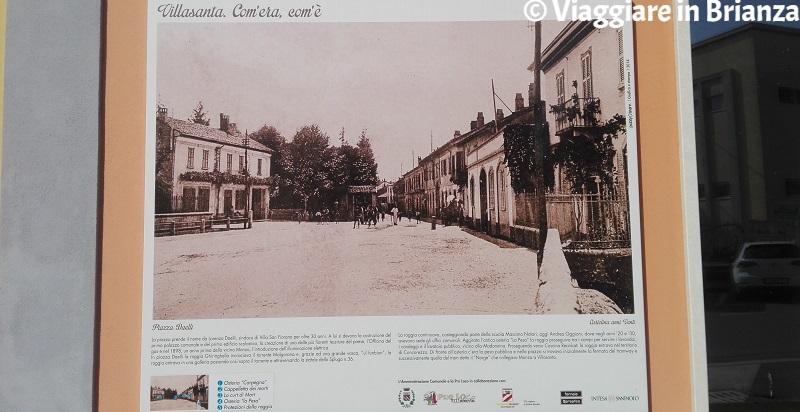 Piazza Daelli a Villasanta