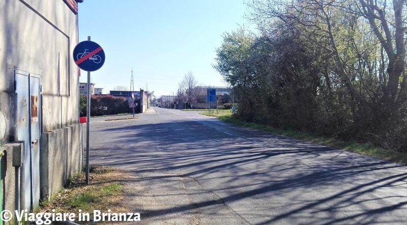 La pista ciclabile 25 del Parco delle Groane