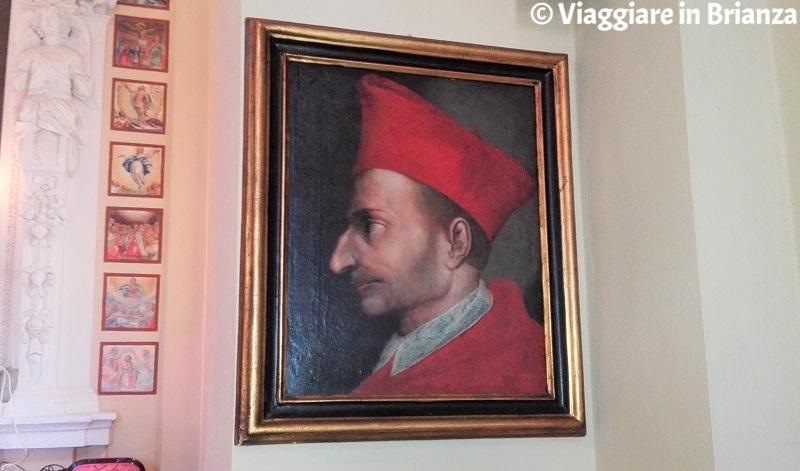 San Carlo Borromeo nella Chiesetta di Torricella a Barzanò