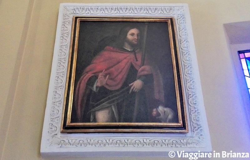San Rocco nella Chiesa della Beata Vergine Assunta di Barzanò