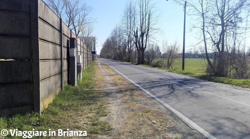Via Groane a Cesano Maderno