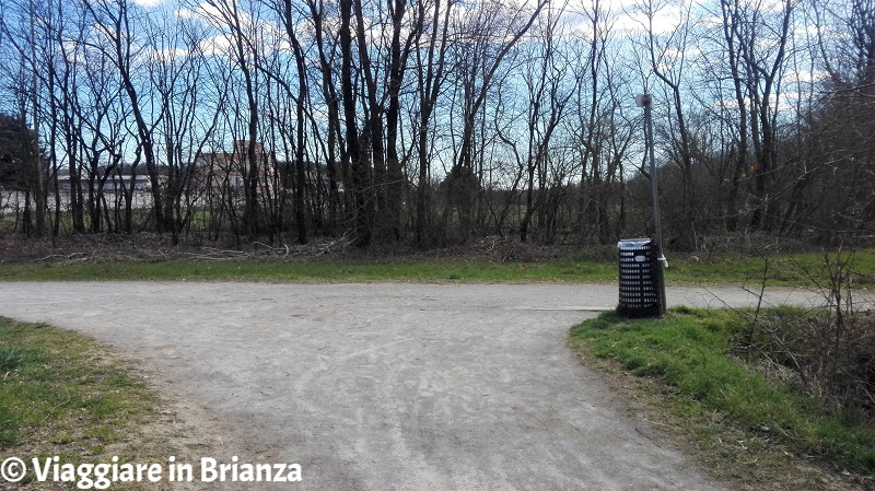 Via Paganini a Barlassina nel Parco delle Groane