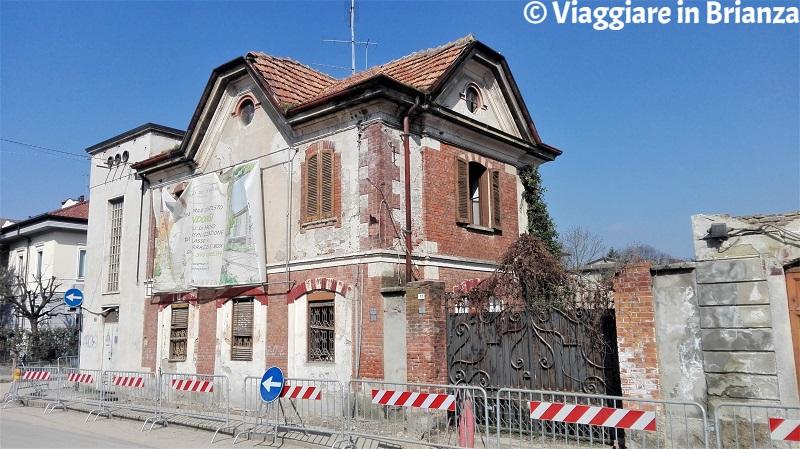 Villasanta, la dimora del custode dell'ex Fabbrica Tronconi