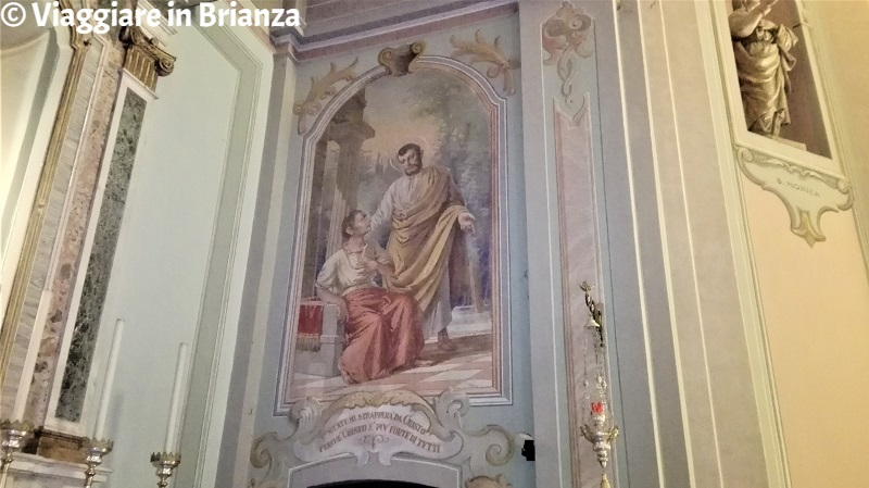 Agostino e Alipio nella Chiesa di Cassago Brianza