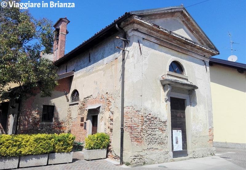 Cascina del Bruno, l'Oratorio della Madonna del Rosario