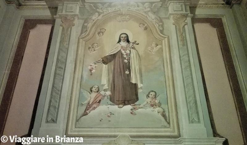 Cassago Brianza, la chiesa: la Cappella di Santa Teresa del Bambin Gesù