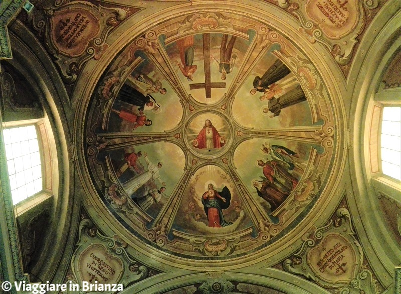 Cassago Brianza, la chiesa: il catino absidale