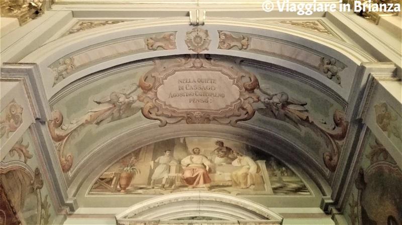 Cassago Brianza, la chiesa: il cenacolo agostiniano