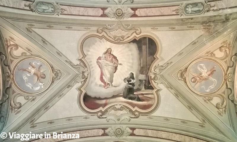 Cassago Brianza, la chiesa: Santa Margherita Alacoque