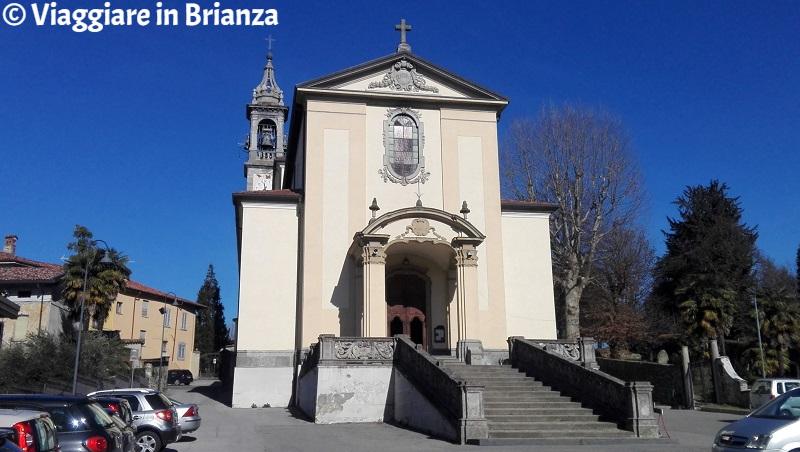 Cassago Brianza, la Chiesa dei Santi Giacomo e Brigida