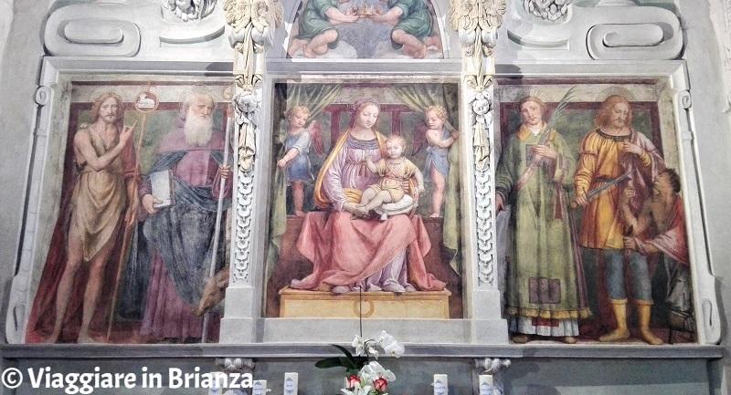 Chiesa di Barlassina, la Madonna dell'Aiuto
