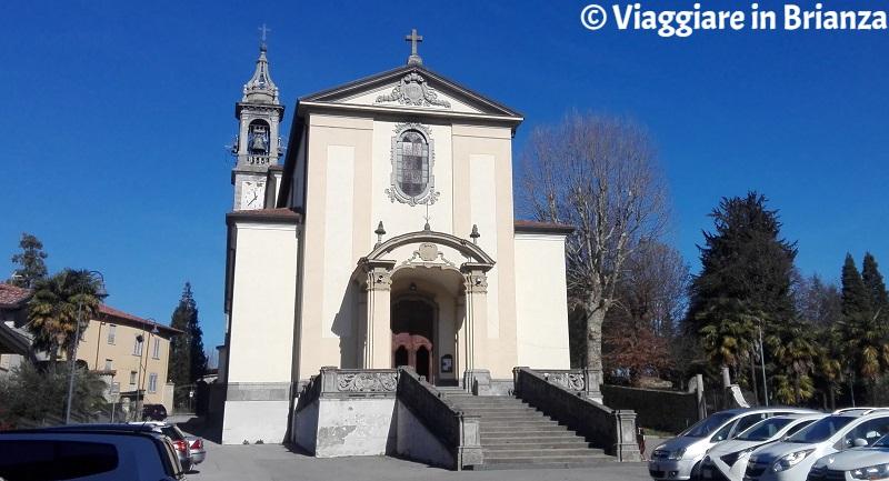 La Chiesa dei Santi Giacomo e Brigida a Cassago Brianza