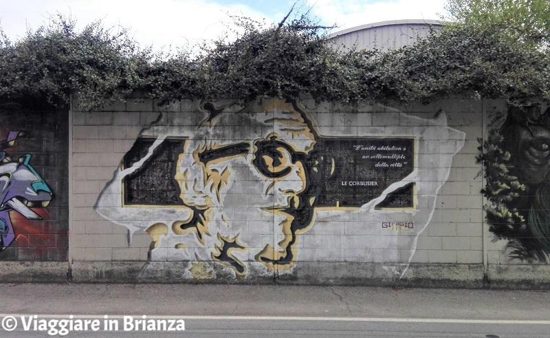 Le Corbusier nei murales di Barlassina