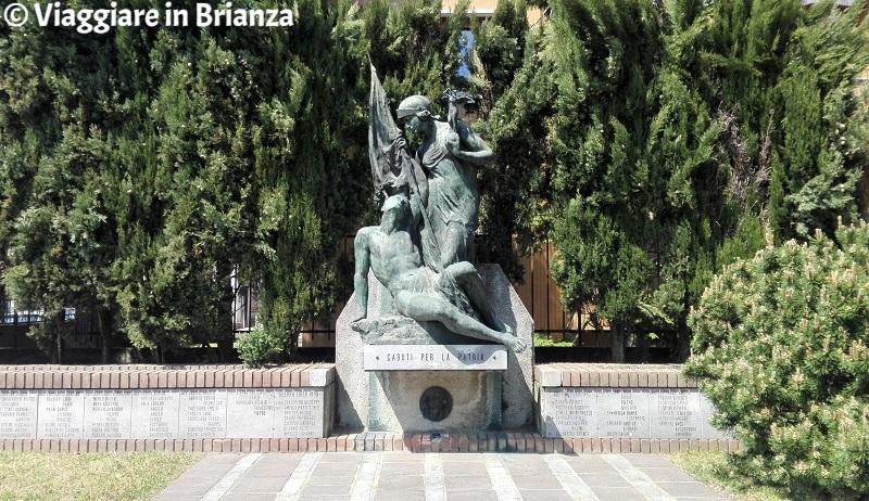 Cosa fare ad Arcore, il Monumento ai Caduti per la Patria