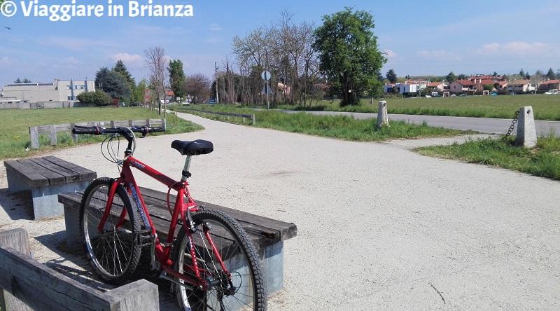 Cosa fare ad Arcore, la pista ciclabile per il Parco di Monza