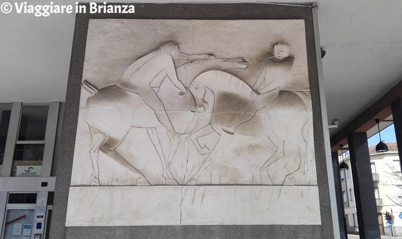 Cosa fare a Seregno, Cavalli e cavalieri di Giuseppe De Feo