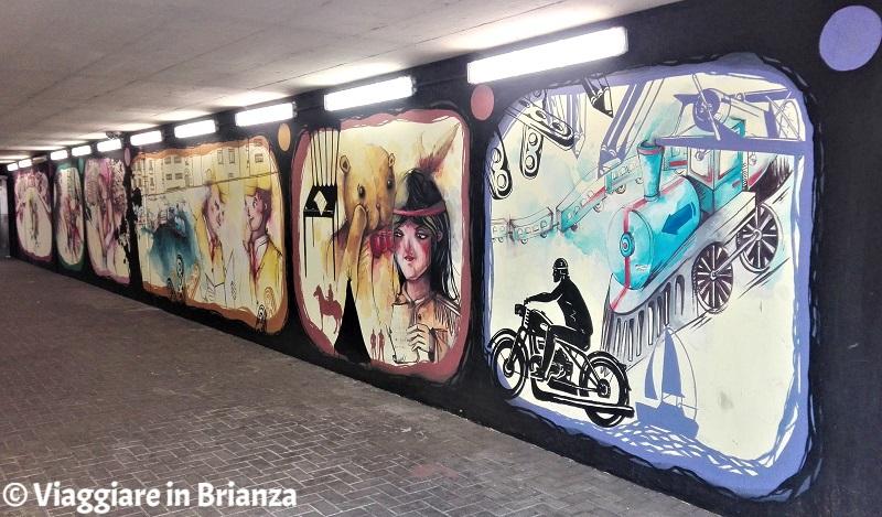Cosa fare a Seregno, i murales di Cristian Sonda
