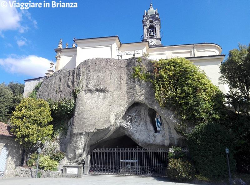 Cosa fare a Veduggio con Colzano, la grotta di Lourdes