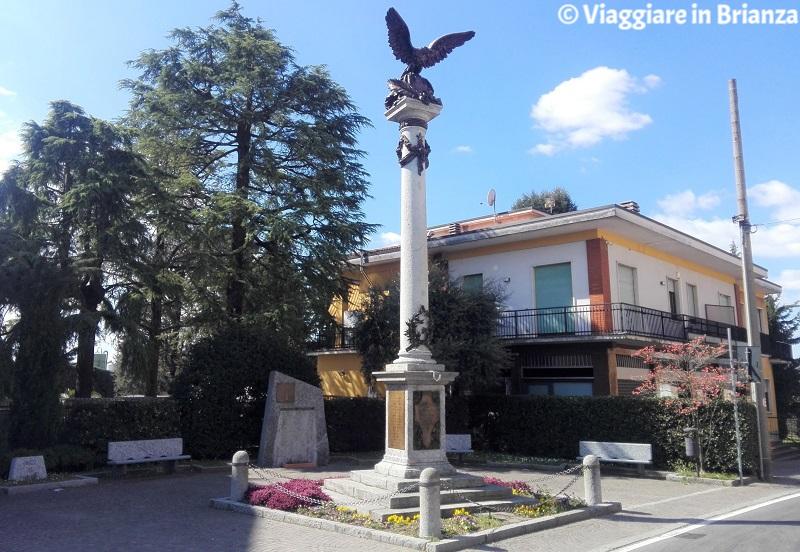 Cosa fare a Veduggio con Colzano, il Monumento ai Caduti