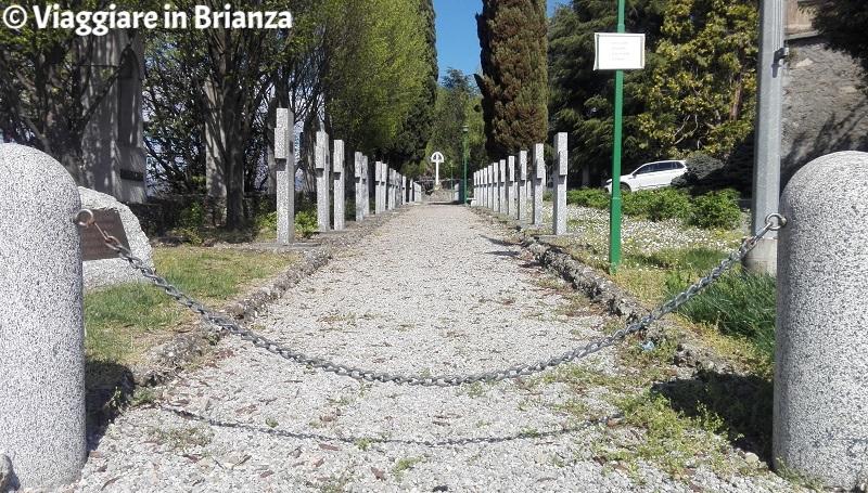 Cosa vedere a Veduggio, le croci dei caduti