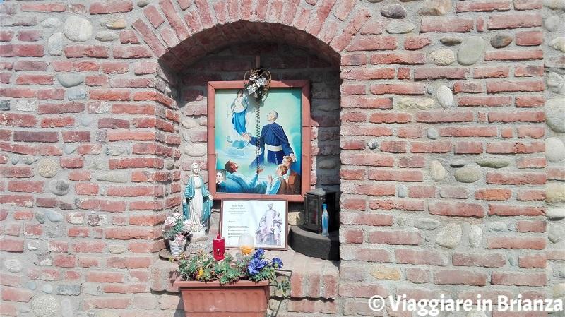 L'edicola sacra del Padre Luigi Monti a Cascina Montina