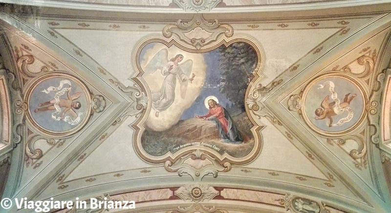 Gesù nell'Orto dei Getsemani nella Chiesa di Cassago Brianza