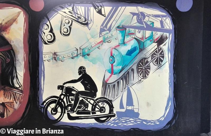 Il motociclista della Freccia Azzurra di Gianni Rodari