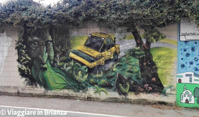 Murales a Barlassina: Berto191 e D.Mace