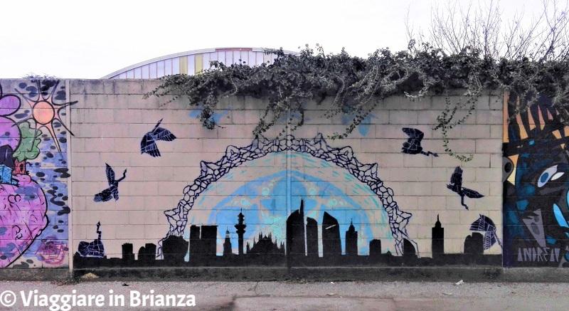 Murales a Barlassina: Nature Takes Over