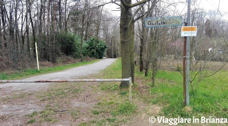 La pista ciclabile 34 del Parco delle Groane a Seveso