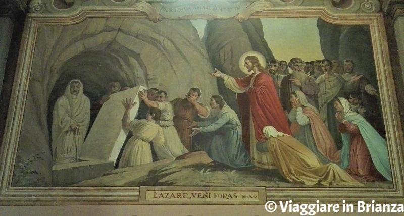 La Resurrezione di Lazzaro nella chiesa di Cassago Brianza