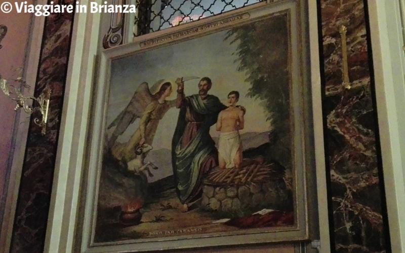 Il sacrificio di Abramo nella chiesa di Cassago Brianza