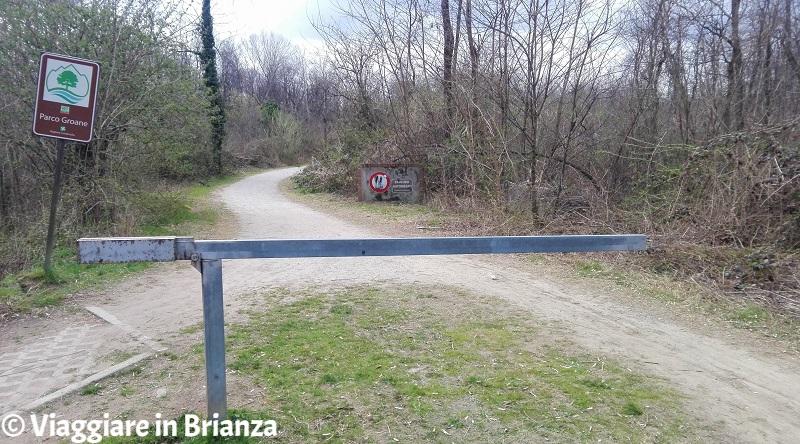 Seveso, la pista ciclabile 27 del Parco delle Groane