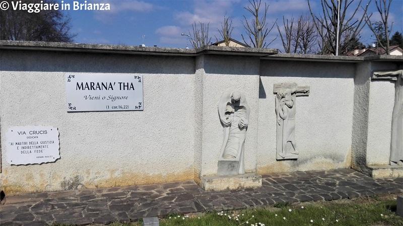 La Via Crucis del Santuario della Madonna di Czestochowa a Casatenovo