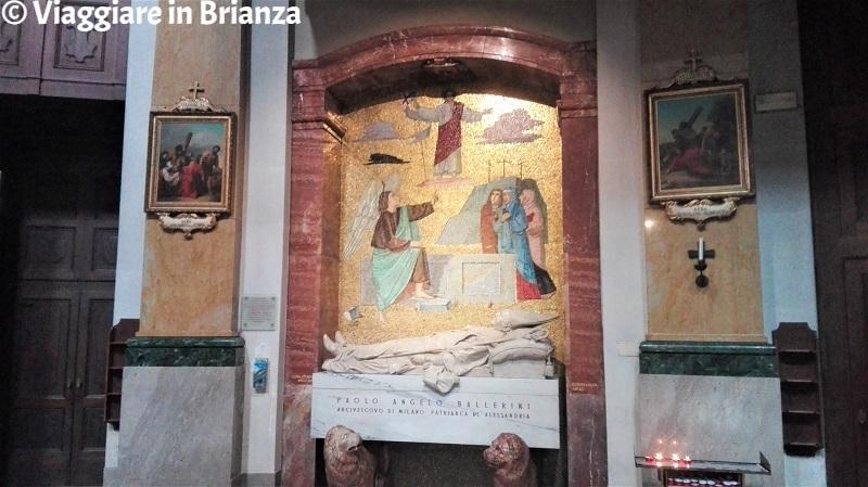Basilica di San Giuseppe a Seregno, il mosaico di Luigi Filocamo