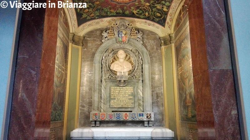 Basilica di San Giuseppe a Seregno, la tomba del Cardinale Achille Locatelli