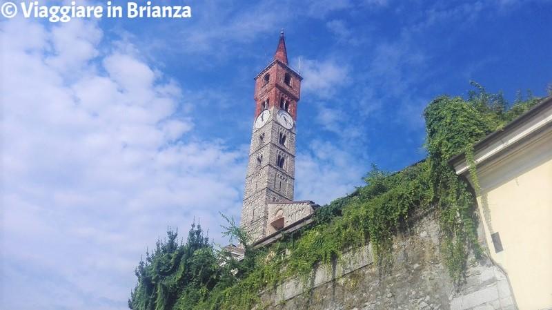 Il campanile della Basilica di San Paolo a Cantù