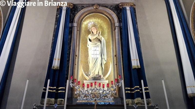 La Cappella della Beata Vergine Immacolata nella Basilica di San Giuseppe a Seregno
