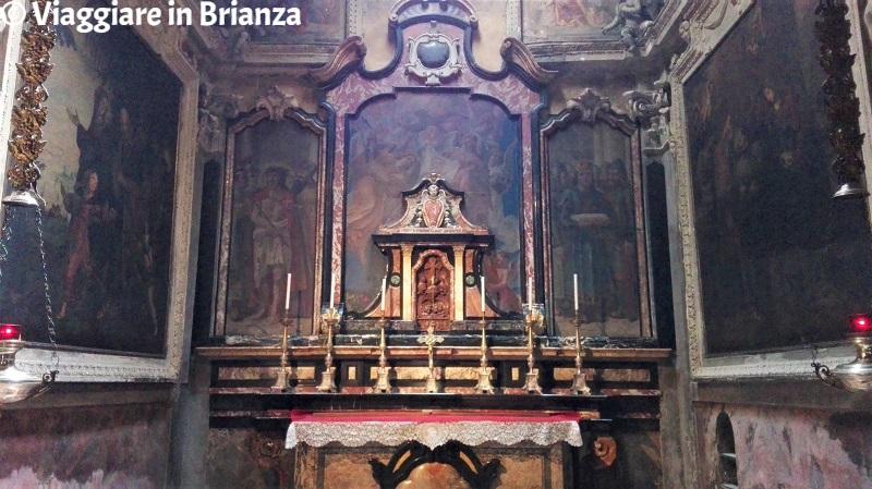 La cappella della navata sinistra della Chiesa di San Paolo a Cantù