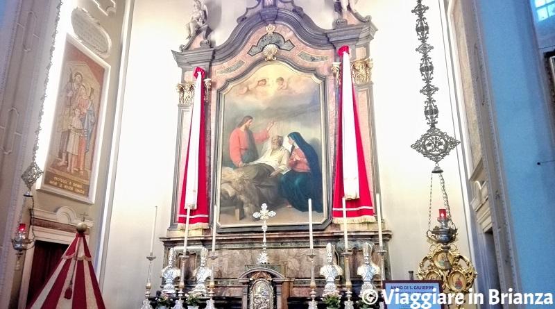 La Cappella di San Giuseppe nella Basilica di Seregno