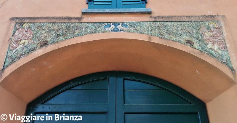 Cascina Colombera, la terracotta dei Santi Aimo e Vermondo