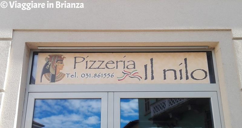 Cosa fare a Bulciago, la Pizzeria Il Nilo