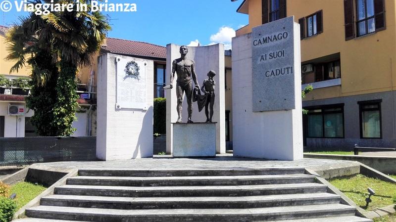 Cosa fare a Lentate sul Seveso, il Monumento ai Caduti di Camnago